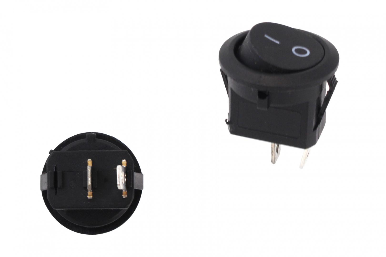 Włącznik Round Mini ON-OFF 2PIN - GRUBYGARAGE - Sklep Tuningowy